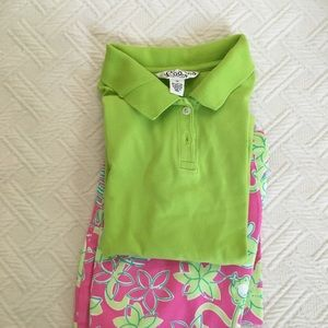 Girl's Lilly Pulitzer Polo Shirt